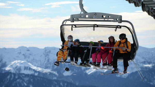 Открытие сезона на горнолыжном курорте Роза Хутор в Сочи - Sputnik Абхазия