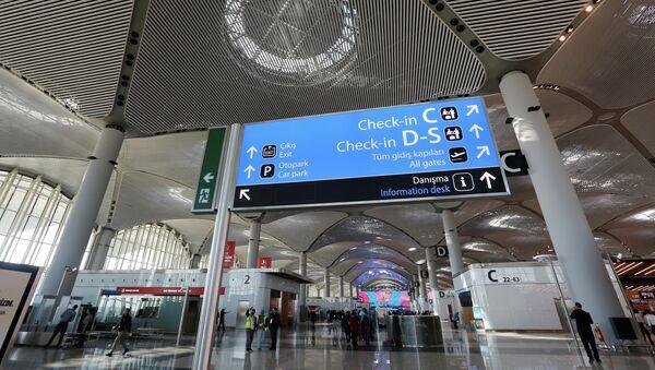 Терминал  нового аэропорта в Стамбуле - Sputnik Аҧсны