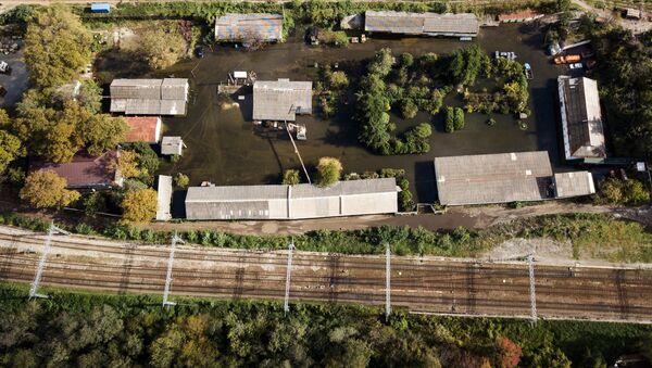 Ликвидация последствий наводнения на Кубани - Sputnik Аҧсны