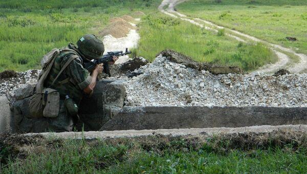 Учения ЮВО в Абхазии - Sputnik Абхазия