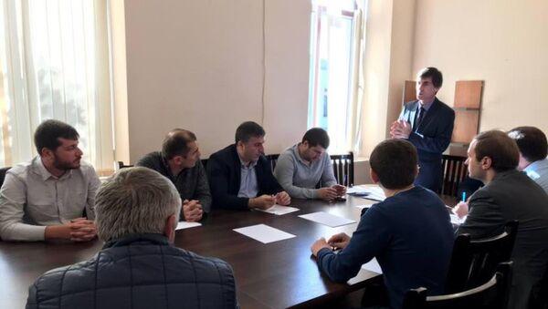 Заседание временной комиссии депутатов Сухумского городского Собрания по реформированию - Sputnik Абхазия