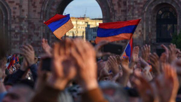 Ситуация в Армении - Sputnik Аҧсны