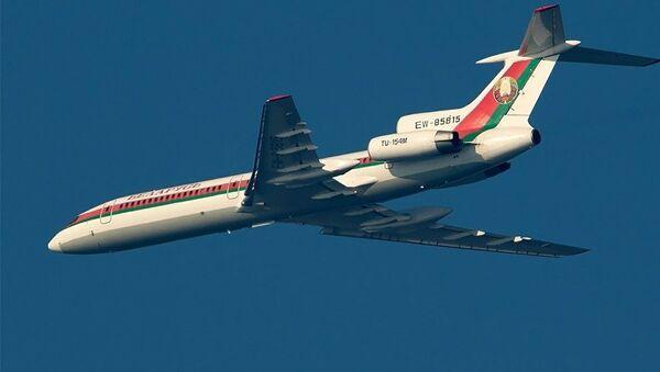 Самолет Ту-154М на котором летал президент Белоруссии Александр Лукашенко - Sputnik Аҧсны