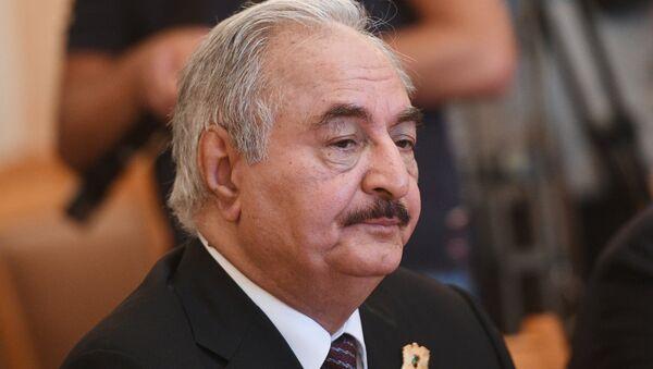 Командующий Ливийской национальной армией Халифа Хафтар - Sputnik Абхазия