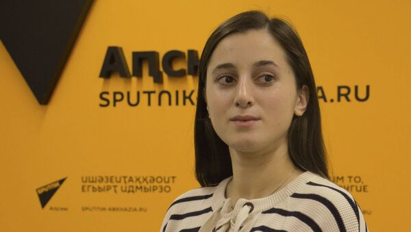 Лана Чкадуа - Sputnik Абхазия