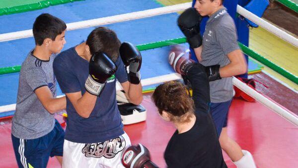 Занятия по тайскому боксу - Sputnik Аҧсны