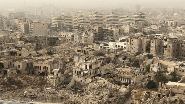 Город Алеппо в Сирии - Sputnik Абхазия