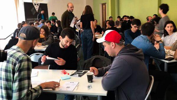 Восьмой чемпионат Абхазии по интеллектуальным играм - Sputnik Абхазия