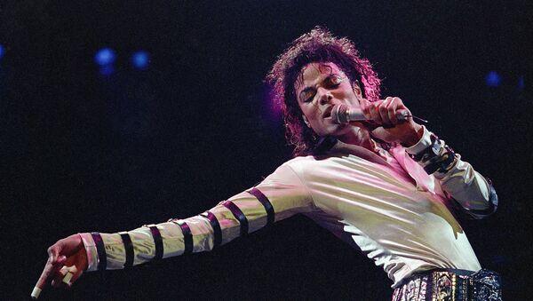 Майкл Джексон во время концерта В США. 24 февраля 1988 года - Sputnik Аҧсны