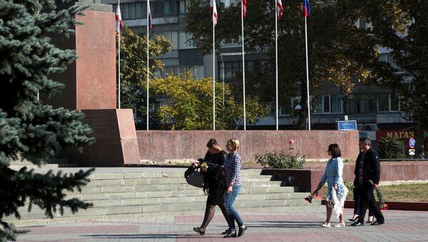 Площадь Ленина в Симферополе - Sputnik Аҧсны