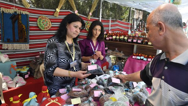 Рыночная торговля в Дамаске - Sputnik Аҧсны