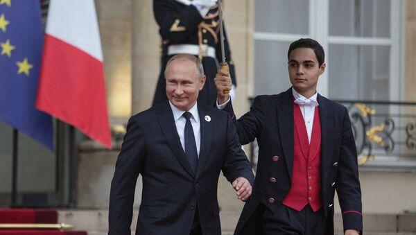 Рабочий визит президента РФ В. Путина во Францию - Sputnik Абхазия