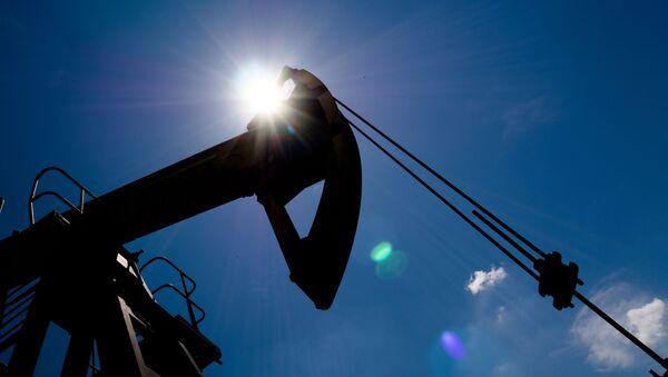Нефтяной станок-качалка в Северском районе Краснодарского края. - Sputnik Абхазия