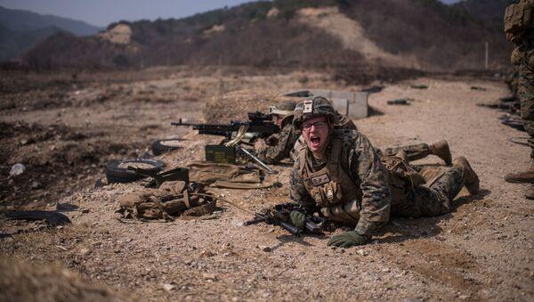 Солдат американской армии - Sputnik Абхазия