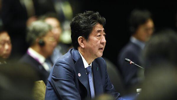 Премьер-министр Японии Синдзо Абэ - Sputnik Абхазия