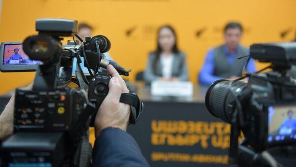 Пресс-конференция, посвященная семилетию благотворительного фонда Ашана, прошла в пресс-центре Sputnik в четверг, 15 ноября.  - Sputnik Абхазия
