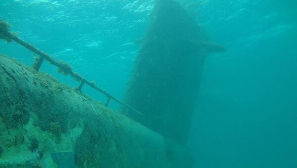 Затонувшая подводная лодка. Архивное фото - Sputnik Абхазия