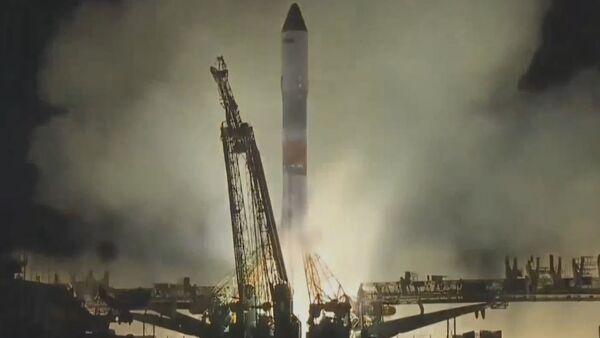 Ракета Союз-ФГ вывела корабль Прогресс МС-10 на орбиту - Sputnik Абхазия