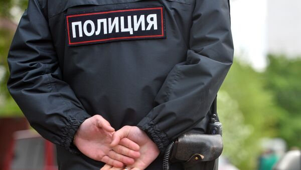 Сотрудники полиции. Архивное фото - Sputnik Абхазия