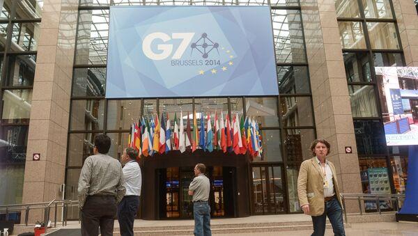 Подготовка к открытию саммита стран G7 - Sputnik Абхазия