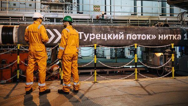 Путин Ҭырқәтәылаҟа днеиит Турецкий поток ашьҭаҵара ахыркәшара инадҳәаланы - Sputnik Аҧсны