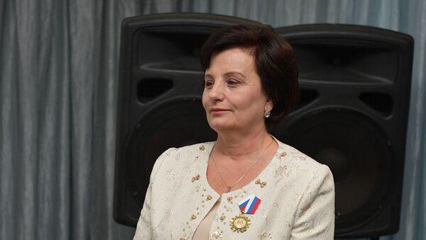 Творческий вечер ко дню рождения Заслуженного журналиста  Абхазии Екатерины Бебия - Sputnik Аҧсны