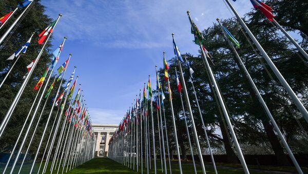 Дворец наций в Женеве - Sputnik Абхазия