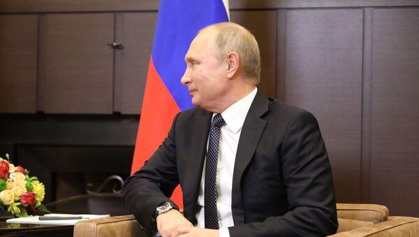 Урыстәылатәи Афедерациа Ахада Владимир Путин - Sputnik Аҧсны