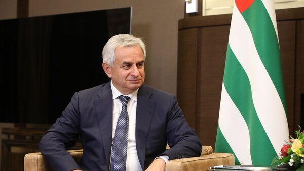 Президент Республики Абхазия Рауль Хаджимба - Sputnik Абхазия