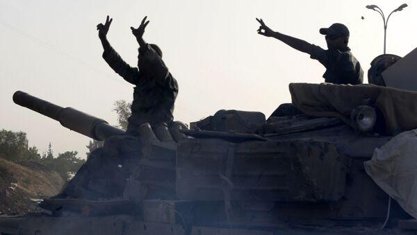 Сирийская армия - Sputnik Аҧсны