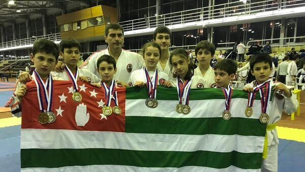 Открытый чемпионат и первенство Российской Федерации по контактному каратэ - Sputnik Абхазия