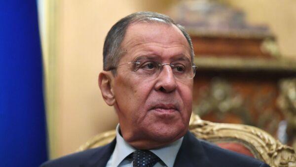 Министр иностранных дел РФ Сергей Лавров - Sputnik Абхазия