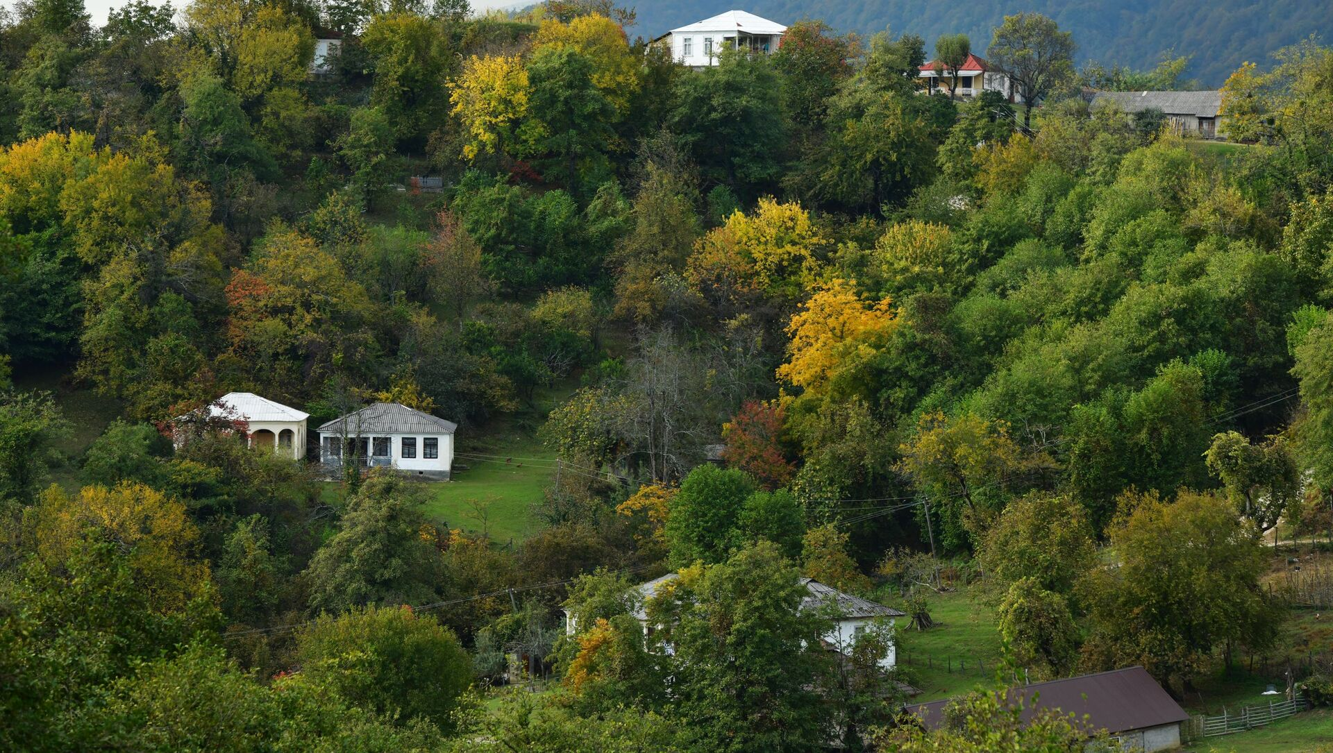 Село Ачандара в Абхазии - Sputnik Аҧсны, 1920, 29.05.2021