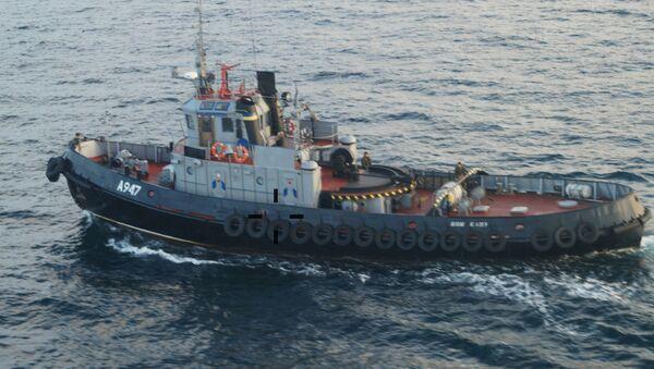 Три корабля ВМС Украины пересекли российскую границу - Sputnik Абхазия