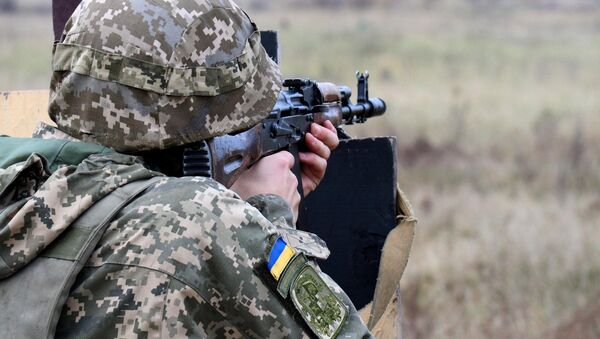 Украинский военный, архивное фото - Sputnik Абхазия