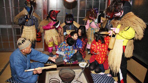 Традиционные японские ритуальные праздники Райхосин - Sputnik Абхазия