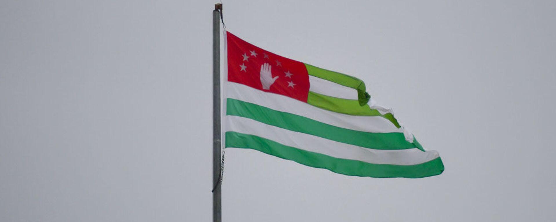 Флаг Абхазии - Sputnik Абхазия, 1920, 13.10.2021