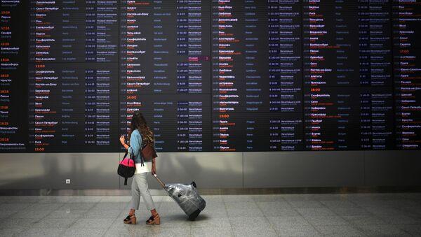 Новый пассажирский терминал B аэропорта Шереметьево - Sputnik Абхазия