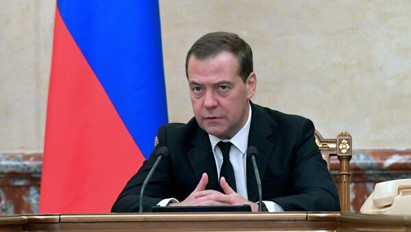 Премьер-министр РФ Д. Медведев провел заседание правительства РФ - Sputnik Аҧсны