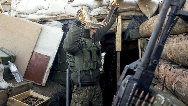 Солдат украинской армии - Sputnik Абхазия