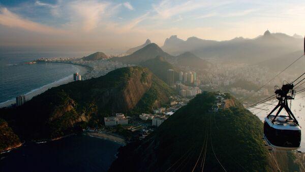 Канатная дорога над Рио-де-Жанейро в Бразилии  - Sputnik Абхазия