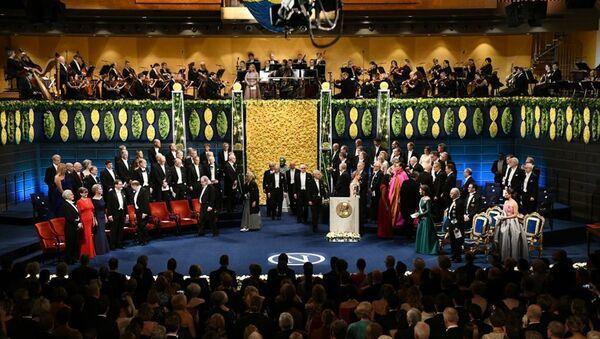 В Стокгольме вручили Нобелевскиe премии - Sputnik Абхазия