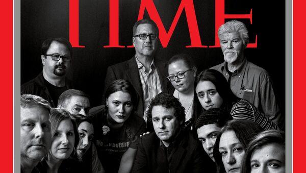 Обложка журнала Time - Sputnik Абхазия