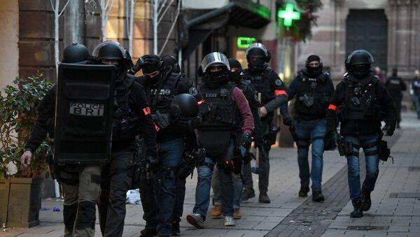 Сотрудники полиции в Страсбурге.12 декабря 2018 - Sputnik Абхазия