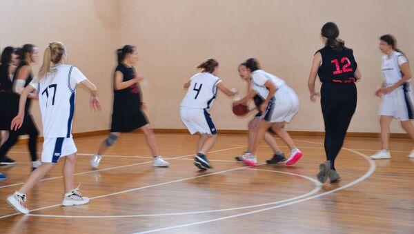 Чемпионат Абхазии по баскетболу среди женских команд в Сухуме - Sputnik Абхазия