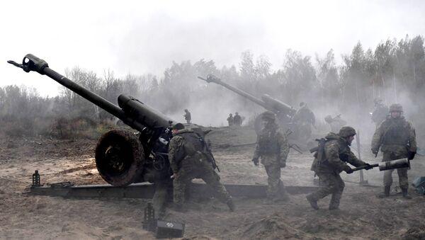 Украинская артиллерия  - Sputnik Абхазия