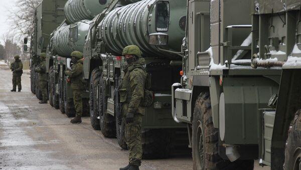 Азенит-ракетатә комплексқәа С-400 Ҟрым аҽазыҟаҵарақәа мҩаԥыргеит - Sputnik Аҧсны