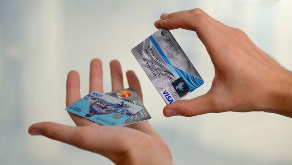 Банковские карты международных платежных систем VISA - Sputnik Аҧсны