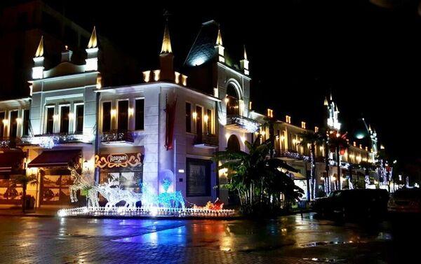 Корпус B, гостиница Ориенталь (бывшая гостиница  Ткварчал)  гостиничного комплекса Абхазия - Sputnik Абхазия