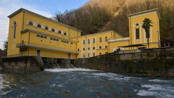 Открытие сухумской ГЭС после капитального ремонта - Sputnik Абхазия